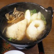 *夕食一例/きりたんぽ鍋。秋田県の名物をお楽しみください!