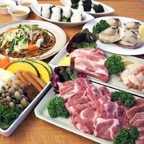 *ボリューム満点!お肉と野菜たっぷりで大満足の焼肉を楽しもう!(5-9月限定)
