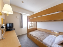 2段ベッドルーム