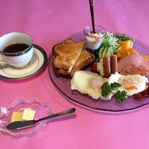 【大人の選べる朝食】 洋食・コーヒー付♪
