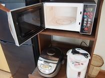 【ゆくりなリゾート】冷蔵庫・電子レンジ・炊飯器・電子ポット