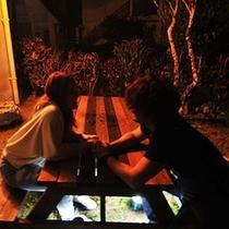 【ペンションtype・うりずん】ガーデン・お庭