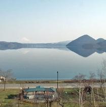 晴れた日には洞爺湖もご覧いただけます♪