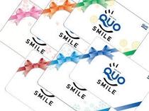 ■QUOカード1 QUOカードでお夜食に
