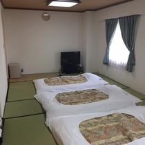 和室★12畳★広々としていて、ベッドが苦手な方や、小さいお子様がいらっしゃるご家族にオススメ♪