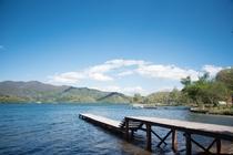野尻湖の景色