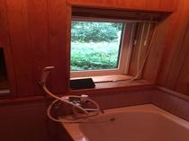 北軽井沢森の別荘バスルーム