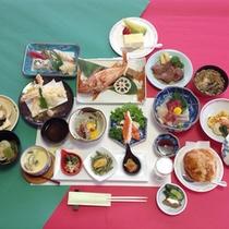 *【食事例】夢コース。旅の醍醐味は食事!という方におすすめ。