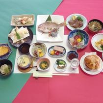 *【食事例】松コース。旬の味覚をたっぷりお楽しみ下さい!