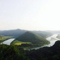 *【きみまち阪】米代川にあるきみまち阪を中心とした自然公園。