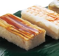 《館内1F》レストランメニュー箱寿司