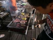 地元野菜や魚を焼くのもおすすめですよ!
