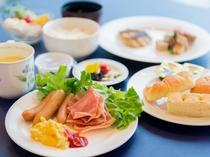 【ビュッフェメニュー 】(朝食)