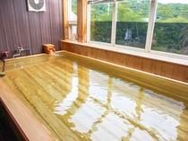 【下田の天然温泉大浴場(女湯)】