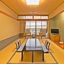 【オーシャンビュー・上層階】和室(一例)