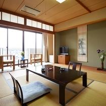 【部屋】<上層階>オーシャンビュー和室(10帖)