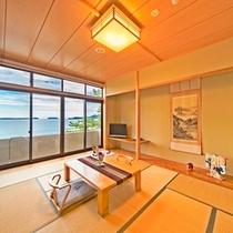 【リニューアル客室】海側和室(一例)