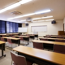 【施設】研修室/宿泊研修やセミナー会場、会議室などにもご活用いただけます。