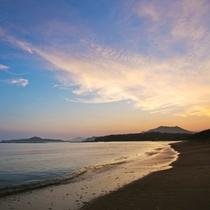 北長門国定公園内に位置している「菊ヶ浜」
