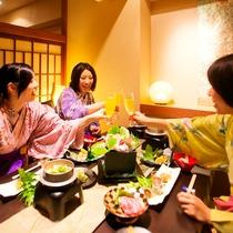 個室会場【イメージ】/記念日など最適!個室でゆったりお食事を♪