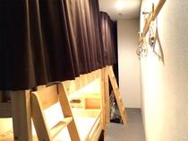 レディースドミトリールーム■女性一人旅の宿泊でも安心!女性専用フロアにあり、4名様までご宿泊可能。