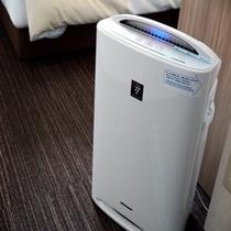 加湿器付き空気清浄器【スーパーホテル新宿歌舞伎町】
