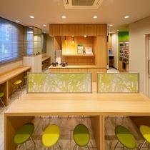 朝食コーナー【スーパーホテル新宿歌舞伎町】