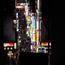 夜景【スーパーホテル新宿歌舞伎町】