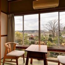 *【和室/6~8畳】庭園の眺めをお楽しみ下さい!