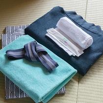 *【アメニティ】浴衣やタオルなどご用意しております。