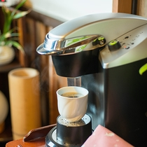 *【ラウンジ】館内のコーヒーセット。ご利用の際はお声かけください。