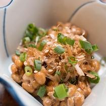 *【朝食】朝食には名産、水戸納豆をお出ししております!