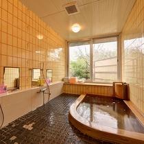 *【女性風呂】24時間入浴可能ですので、時間を気にする事なくお気軽にお楽しみ頂けます。