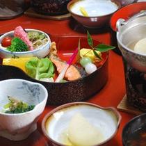【朝食】小鍋の大根と茶碗蒸しが人気です。