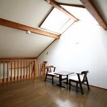 *客室一例/全室に「星空のロフト」付き!非日常のひとときをお過ごし下さい。