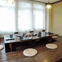 *【レストラン/施設】掘りごたつ式の座席もご用意しております。