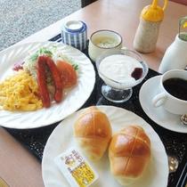 *【朝食一例】〜洋食〜地取れ野菜など地元の食材をつかった身体にやさしい朝食