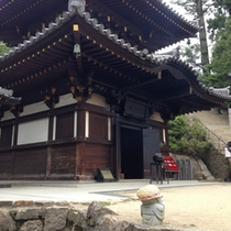 「弥山本堂」消えずの火・霊火堂