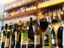 【1階ボンサルーテKABUKI】アルコールも豊富に揃えております。