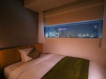 シングルルームからの夜景(一例)