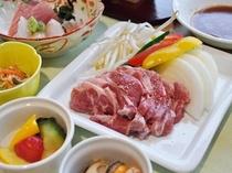 【夕食】キリカ石焼きセット付