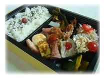 【お弁当の一例】お弁当のご用意も可能です。ぜひご利用ください。