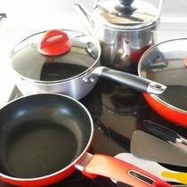 *キッチン/調理器具も揃えてありますので気軽に滞在を楽しめます!