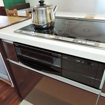 *キッチン/綺麗で快適なオール電化キッチン。