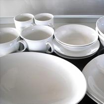 *キッチン/食器類完備で長期滞在にも安心♪