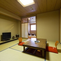 【喫煙】◆10畳間+3畳間+内湯◆ 〈部屋食可〉【客室一例/2Fつばき】