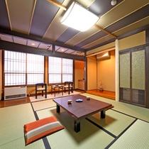 *旅の疲れをいやす心落ち着く和室のお部屋。(一例)