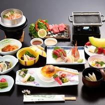 *【夕食全体例】全11品のスタンダードコース。