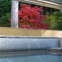 *【露天風呂】高槻樫田温泉:地下200mと比較的浅い源泉です