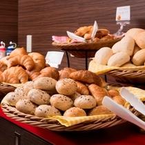 【朝食無料】高級ホテルでも提供されているパンをご賞味ください